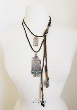 1 Of A KIND JOCK FAVOUR Vintage FRED HARVEY Tag JACK WALKER Combo Necklace