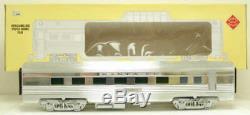 Aristo-Craft 32505 ATSF Fred Harvey Streamlined Diner Car Metal Wheels EX