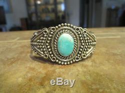 EXTRA FINE OLD Fred Harvey Era Navajo Sterling Silver Arrow DESIGN Bracelet