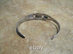 EXTRA OLD Fred Harvey Era Navajo Sterling Silver THUNDERBIRD Bracelet