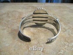 EXUBERANT OLD Fred Harvey Era Navajo Sterling Silver PREMIUM Turquoise Bracelet