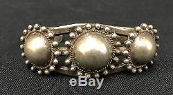 Fred Harvey Era Bracelet Old Tourist Era Collectible Sterling Silver