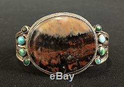 Fred Harvey Era Bracelet Sterling or Coin Silver Old Tourist Era Collectible