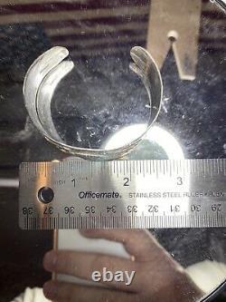 Fred Harvey Style sterling silver Polished Spirit Animal bracelet 35 Grams
