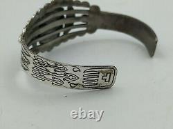 Fred Harvey era Sterling Silver Bracelet And Navajo Ring