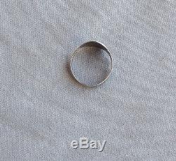 Vintage Native American Silver Fred Harvey Era Thunderbird Ring