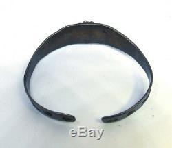 Vintage Sterling Silver Fred Harvey Southwestern Bracelet (Donkeys)