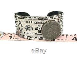Vintage fred Harvey Navajo sterling silver SUN THUNDERBIRD cuff bracelet