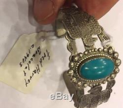 Bracelet Fred Harvey En Argent Sterling