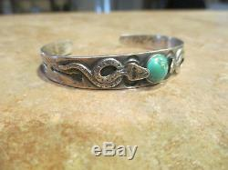 Bracelet Fred Turquoise Era Navajo Silver Turquoise