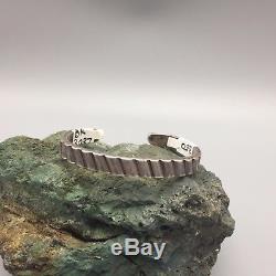 Fred Harvey Bracelet Era Sterling Ou Coin Argenté Meilleur Type De Bracelet En Lingot