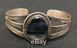 Fred Harvey Era Bracelet Sterling Ou Pièce D'argent Old Tourist Era Collectible