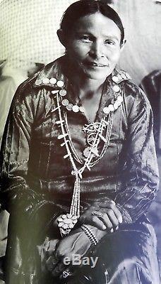 Vintage Fred Harvey Era Argent Estampillé 2 Rang Serpent Oeil Turquoise Manchette Bracelet